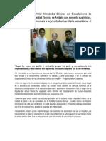 Entrevista Dr Victor Hernandez