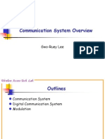 Communication System Overview and Random Process