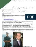 G1 - Exército registra em 2010 recorde de pedidos de desligamento em 10 anos - notícias em Brasil