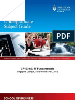 Subject-Guide-CP1030 JCUS SP51 2012