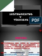 Clase Tecnicas e Instrumentos Evaluacion