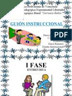 DISEÑO INSTRUCCIONAL-GUION