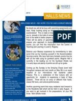 Halls News Issue Two 2012