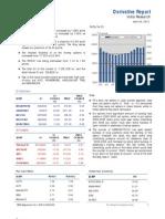 Derivatives Report 24th April 2012