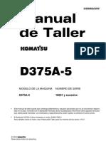 Bulldozerl D 375 a - 5 Komatsu