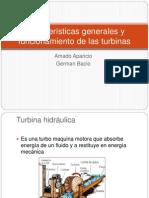 Caracteristicas Generales y Funcionamiento de Las Turbinas