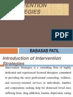 Intervention Strategies PPT BEC BAGALKOT MBA