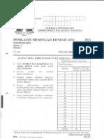 Pmr 2010 Mathematics Kertas 2