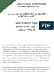 PRODUCTOS AGROPECUARIOS SIN RESTRICCIÓN SANITARIA PARA EXPORTACION