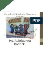 presentation of classroom content