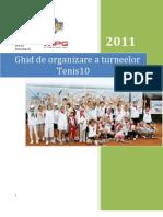 Ghid de Organizare Tenis10 2011
