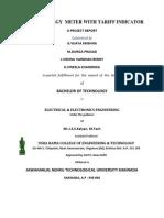 Prepaid Energy Meter Documentation