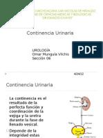 Continencia Urinaria