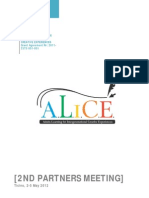 ALICE 2partners-Meeting Ticino