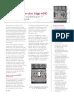 CN Optical Multi Service Edge 6500