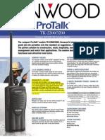 TK-2200_3200 ProTalk Series Brochure & Spec Sheet