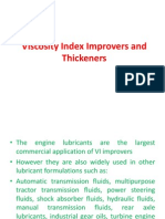 Viscosity Index Improvers and Thickeners - Copy