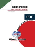 VI Presidential Council_Main Resolution_FR