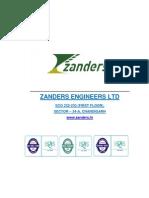 Zanders Profile