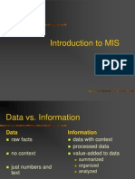 30067491 1st Lecture Data vs Information