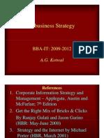 BBA IT 2009 E-Strategy