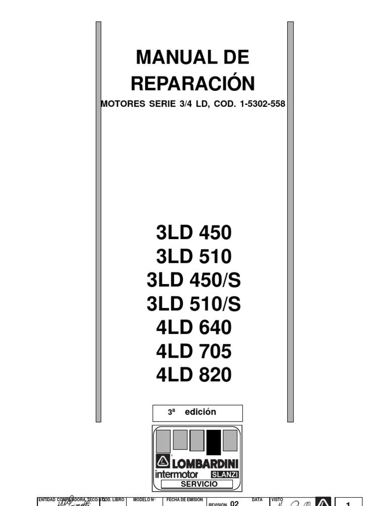 manual taller lombardini rh es scribd com  lombardini-3ld-510-n-manual