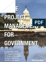 Agile Project Management in Government - Brian Wernham - Galley Proof - April 2012