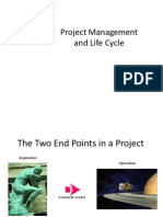 Project Mgt and Life Cycle