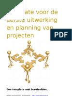 Template Beschrijving Verbeter Projecten (W88)