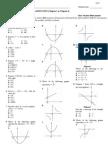 Maths F5 Mid-Term Examination (E)