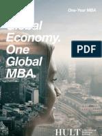 Hult MBA Brochure 2012