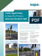 Traffic Signal Pole Leaflet