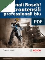 Catalogo Bosch Professional Forza Blu