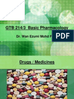 1 Intro Pharmaco Drugs PDF