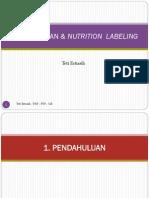 1. Pendahuluan Dan Nutrition Labelling