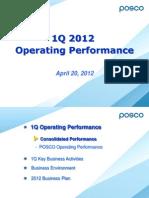 POSCO.Q1 2012 IR_Eng