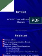 ECS229 Revision