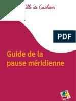 Guide de la pause méridienne - Ville de Cachan