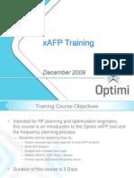 X-AFP Training Dec09