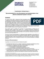 TI EU Debarment Recommendations 06-03-28