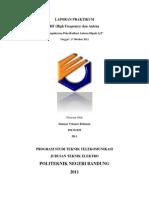 Praktikum HF Dan Antena 3