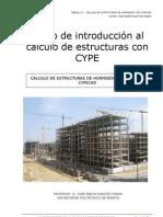 Curso de introducción al cálculo de estructuras con CYPE