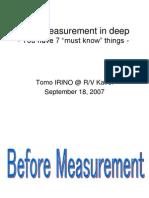 Color Measurement Basics