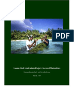 Laamu Atoll Mariculture Project - Seaweed Mariculture Reichenbach and Holloway, 1997