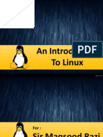 An Introduction to Linux