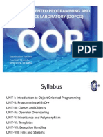 Chapter 1 Basics of OOP