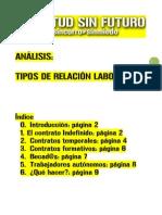 JSF - Tipos de relación laboral