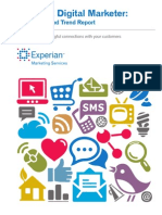 The 2012 Digital Marketer Benchmark and Trend Report Experian