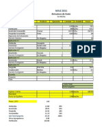 Calculo de Costo de Produccion Maiz