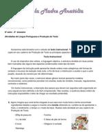 atividades portugues
